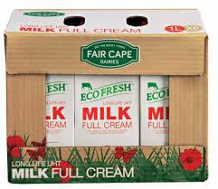 Fair Cape UHT Milk 6x1L